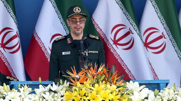 PHOTO: Chief of Staff of Iran's Armed Forces, General Mohammad Hossein Bagheri delivers a speech in Tehran, Iran in this Sept. 21, 2016 file photo.