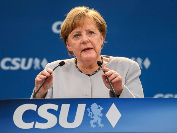 Merkel suggests Europe can't count on US and UK as much as in past