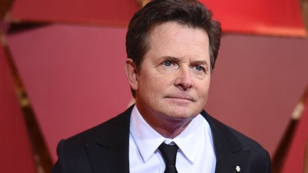 PHOTO: Michael J. Fox arrives at the Oscars at the Dolby Theater in Los Angeles, Feb. 26, 2017.
