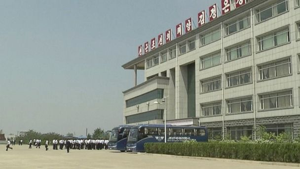 PHOTO: This image made from May 21, 2014, video shows the Pyongyang University of Science and Technology.