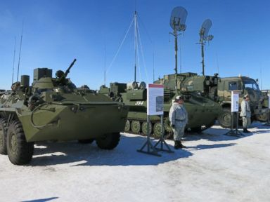 Russia flaunts Arctic expansion with new military bases
