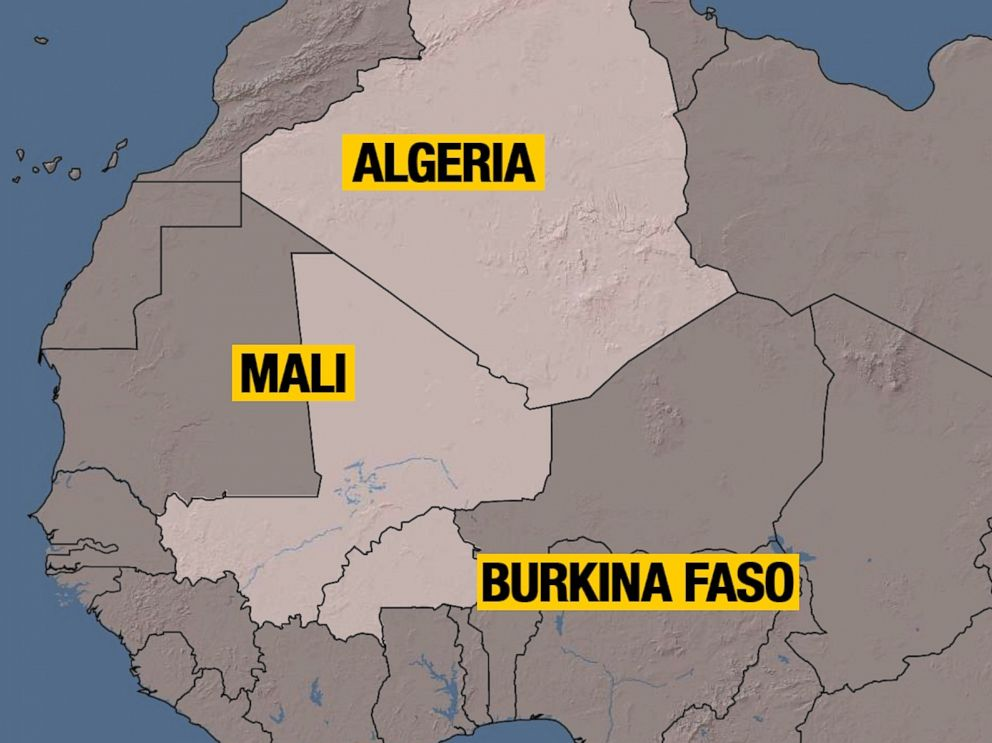 PHOTO: An Air Algerie plane disappeared from radar following takeoff in Ouagadougou, Burkina Faso, July 24, 2014.