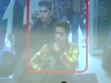 PHOTO: At a March 11, 2014 press conference, Interpol identified the men who boarded Malaysia Airlines Flight MH370 using stolen passports as Pouria Nour Mohammad Mehrdad, 19, and Delavar Syed Mohammad Reza, 29.