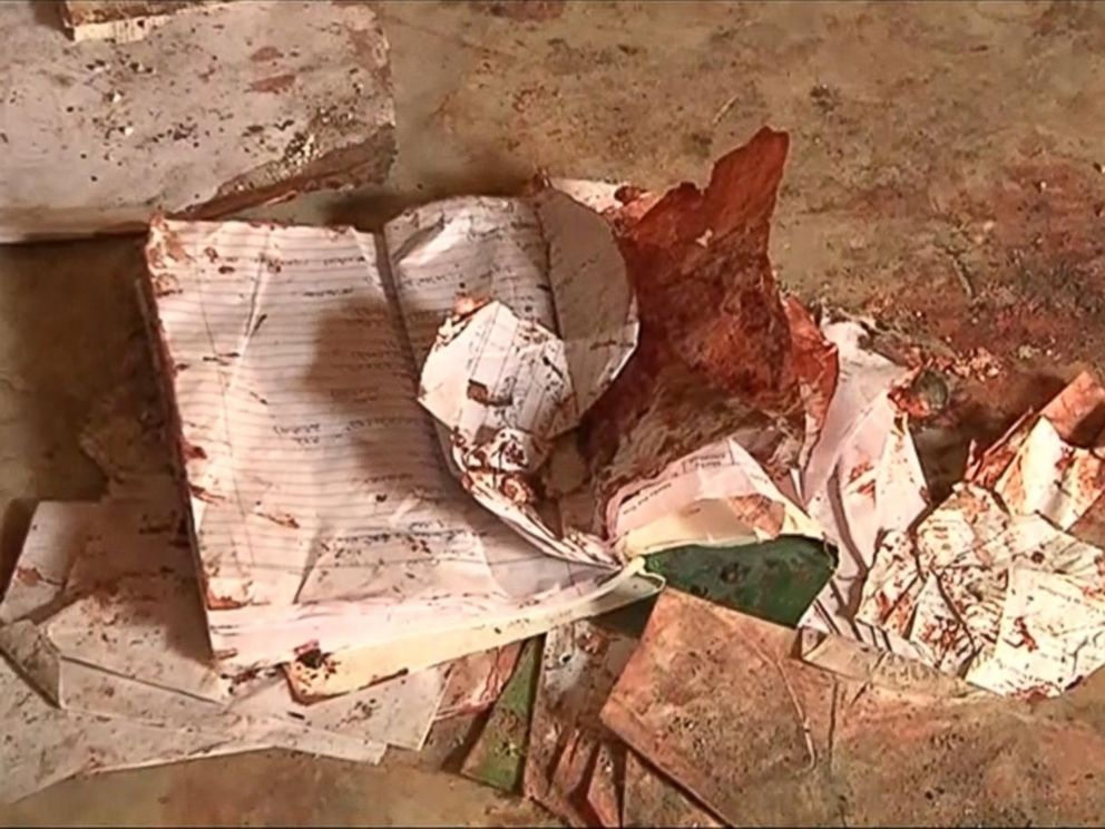 PHOTO: Childrens books were left behind following a school attack in Peshawar, Pakistan, in an image taken Dec. 17, 2014.