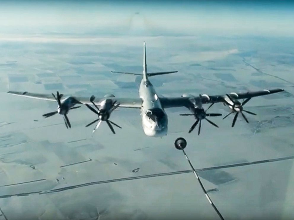 US Intercepts Two Russian Bombers Off Alaska's Coast