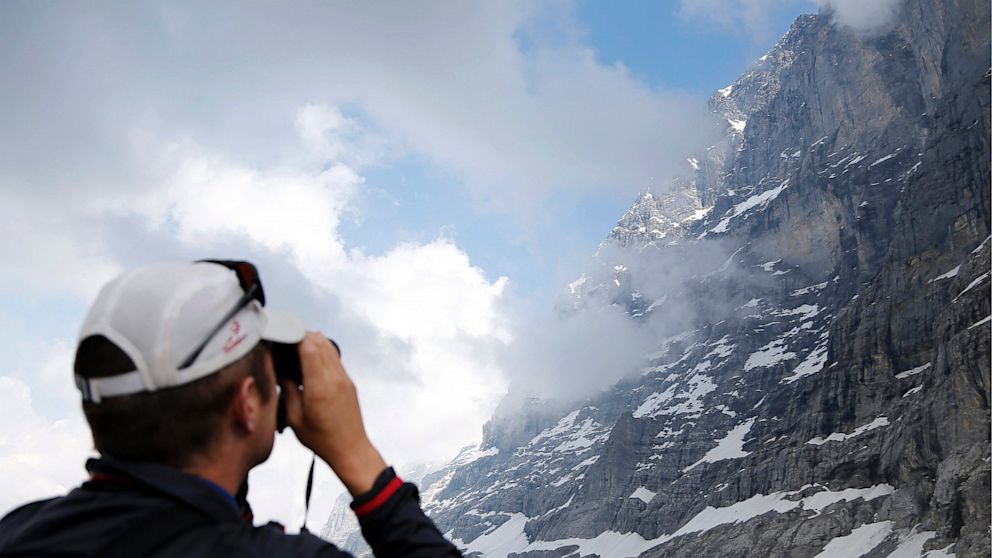 PHOTO: Eiger north face above the Kleine Scheidegg, Switzerland