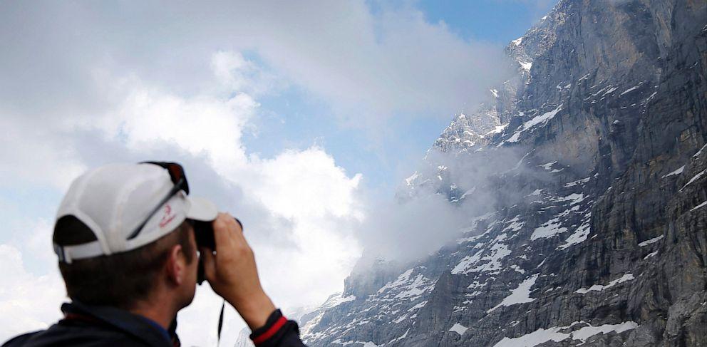 PHOTO: Eiger north face above the Kleine Scheidegg, Switzerland