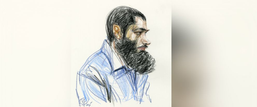 PHOTO: In this courtroom drawing, Abid Naseer listens to the guilty verdict against him in federal court on March 4, 2015, in the Brooklyn borough of New York.