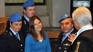 US murder suspect Amanda Knox