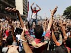 PHOTO: Supporters of Egypts ousted President Mohammed Morsi chant slogans against Egyptian Defense Minister Gen. Abdel-Fattah el-Sissi before clashes broke out with Egyptian security forces in Ramses Square, downtown Cairo, Egypt, Friday, Aug. 16, 2013.