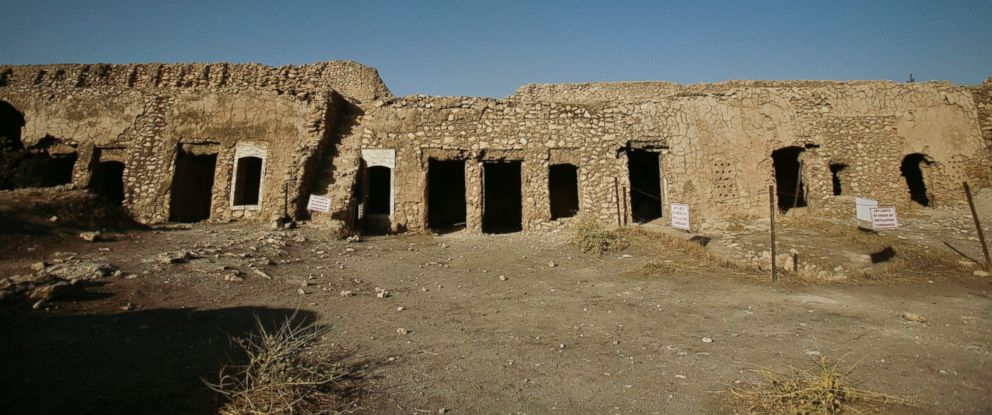 PHOTO:This Nov. 7, 2008, photo shows St. Elijahs Monastery on the outskirts of Mosul, Iraq.