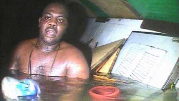 AP Nigeria rescue nt 131203 16x9 608 Cook Survives 3 Days in Air Pocket of Sunken Ship Off Nigerian Coast