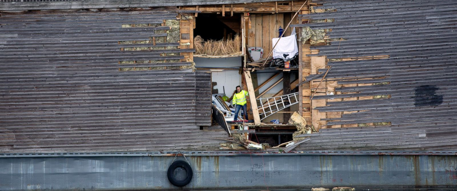'Noah's Ark' Survives Collision With Norwegian Coast Guard ...