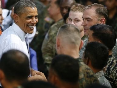 Obama Pays Tribute to US Troops in Asia Pacific