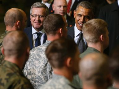 Obama Calls European Security 'Sacrosanct' As Europe Tour Kicks Off