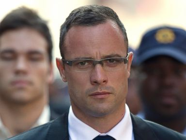 PHOTO: Oscar Pistorius arrives at the high court in Pretoria, South Africa, Monday, March 17, 2014.