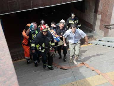 At Least 10 Dead in Moscow Subway Train Derailment