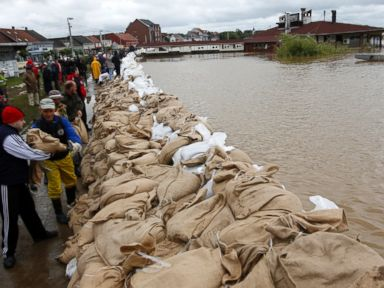 Balkan Floods Offer New Threat: Loosened Land Mines
