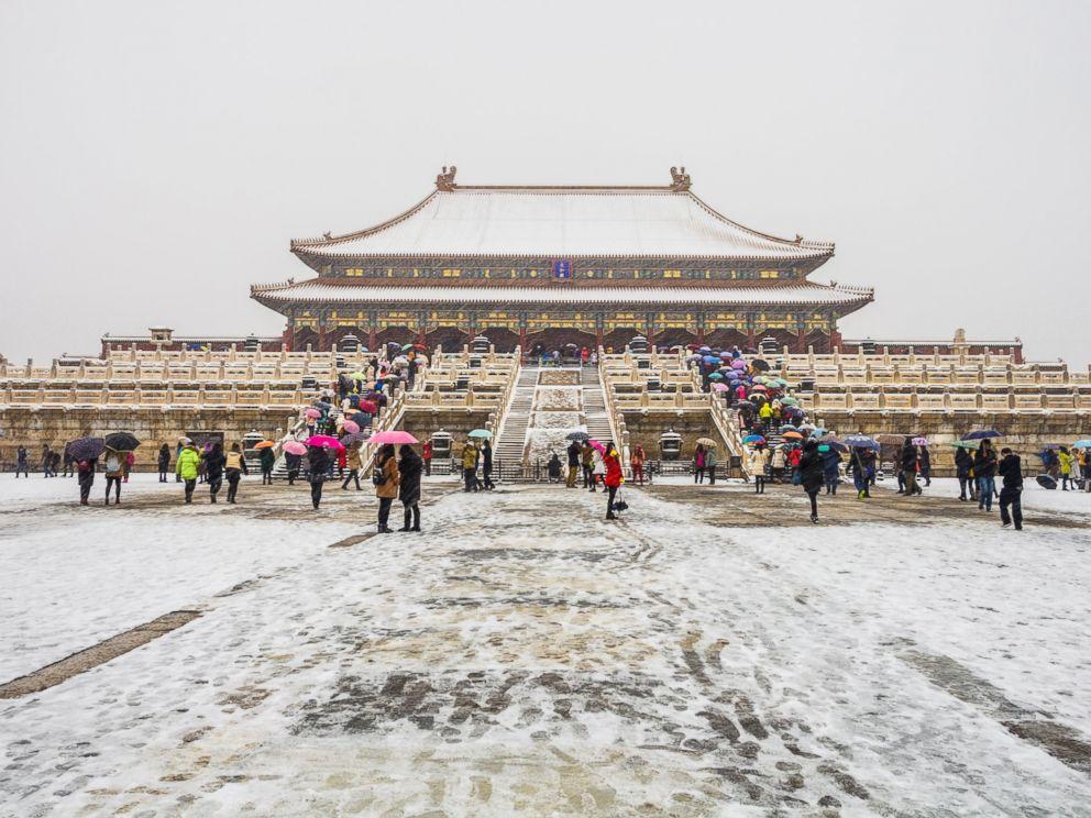 Surprise Snowstorm Turns Beijing Into Winter Wonderland ...