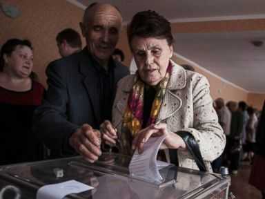 Eastern Ukrainians Vote in Controversial Referendum