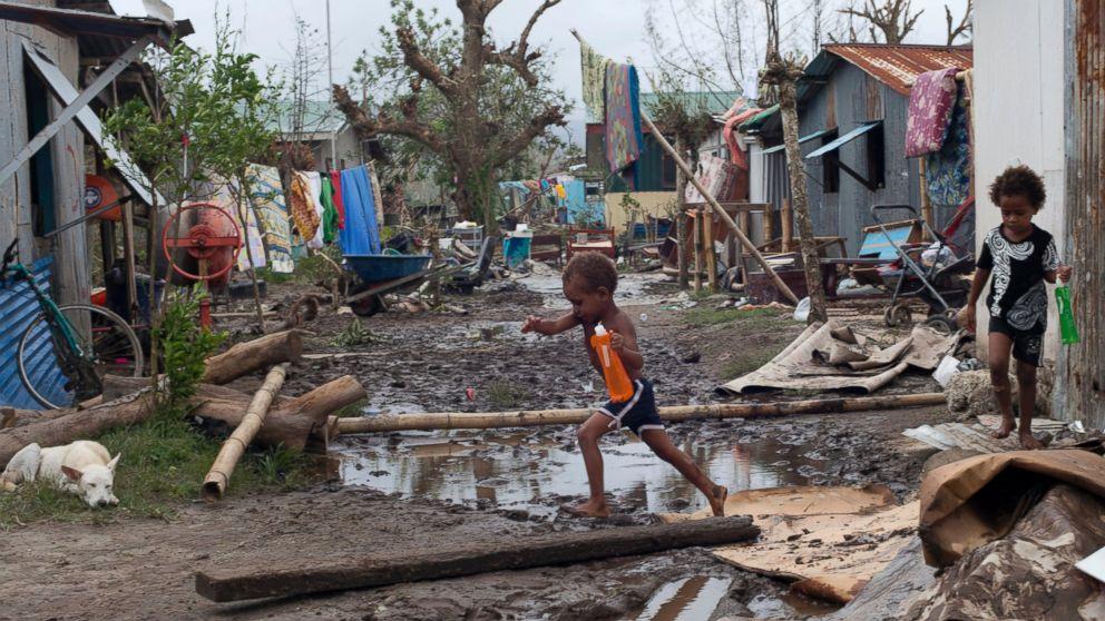 'Monster' Cyclone Strikes a Heavy Toll in Vanuatu