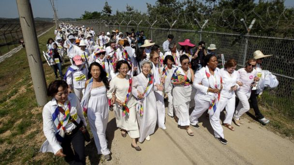 http://a.abcnews.com/images/International/AP_Women_March_Korea_DMZ_150524_DC_16x9_608.jpg