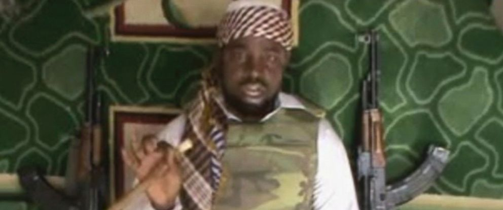 PHOTO: This file image made available Wednesday, Jan. 10, 2012, taken from video posted by Boko Haram sympathizers, shows the leader of the radical Islamist sect Imam Abubakar Shekau.