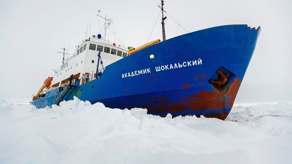PHOTO: The Russian ship MV Akademik Shokalskiy