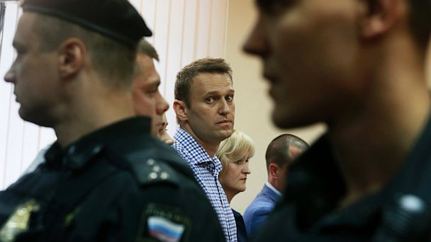 AP alexei navalny lpl 130718 16x9 608 Putin Critic Alexei Navalny Gets 5 Years for Embezzlement