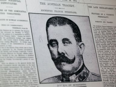 Assassination That Started WWI like 'Game of Thrones' Script