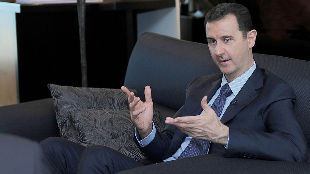 PHOTO: Syrian President Bashar Assad