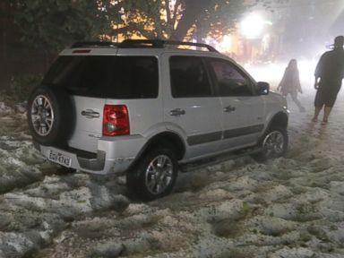 Storm Blankets São Paulo in Marble-Sized Hail