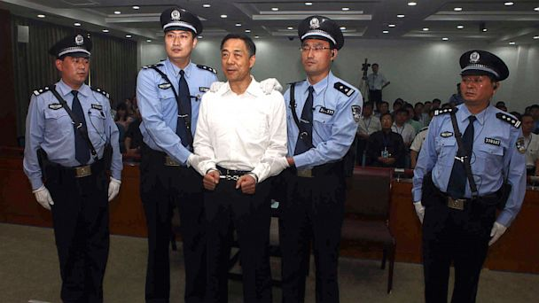 AP china Bo Xila lt 130922 16x9 608 Fallen Chinese Politician Bo Xilai Sentenced to Life in Prison