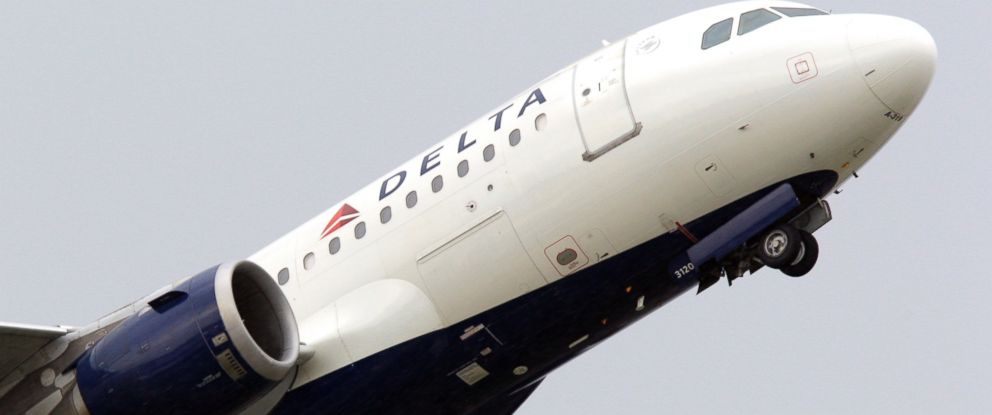 PHOTO: A Delta Air Lines jet takes off at the Detroit Metropolitan Airport in Romulus, Mich. in this July 22, 2011 file photo.