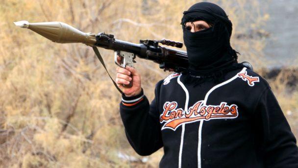 AP fallujah gunman conflict sk 140106 16x9 608 US Responds as al Qaeda Overruns Fallujah
