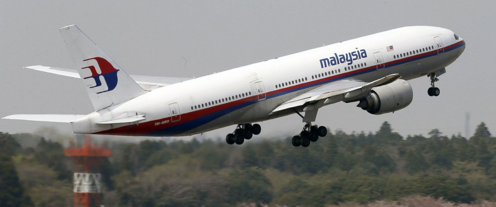 PHOTO: This photo taken in April, 2013, shows a Malaysia Airlines Boeing 777-200ER at Narita Airport in Narita, near Tokyo.