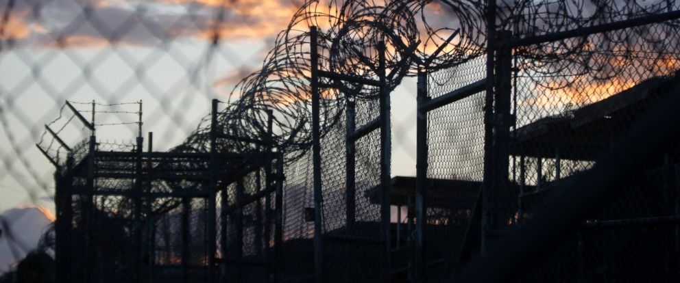 PHOTO: Dawn arrives at the now closed Camp X-Ray, which was used as the first detention facility for al-Qaida and Taliban militants who were captured after the Sept. 11 attacks, at the Guantanamo Bay Naval Base, Cuba, Nov. 21, 2013.