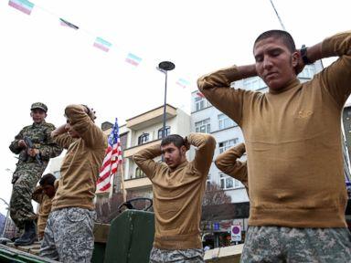 Iran Mocks US Sailors in Revolution Day Parade