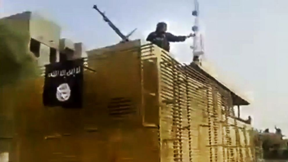 PHOTO: In this June 17, 2014 image taken from video uploaded to a militant social media account, al-Qaida-inspired I