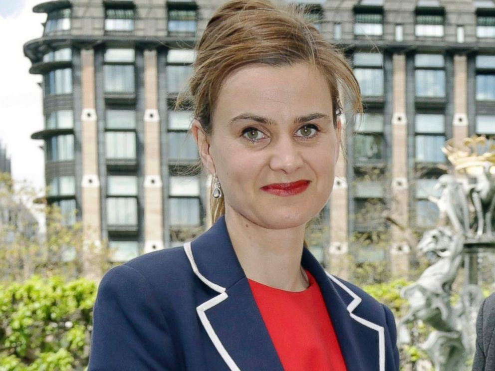 PHOTO: Labour Member of Parliament Jo Cox poses for a photograph, May 12, 2015.