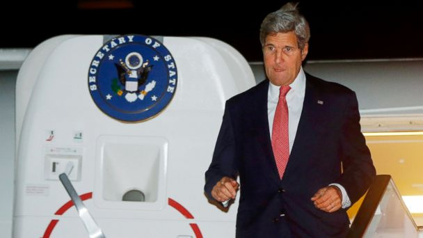 AP john kerry jef 140721 16x9 608 John Kerry Arrives in Cairo to Broker Ceasefire as Israel/Gaza Fighting Rages on