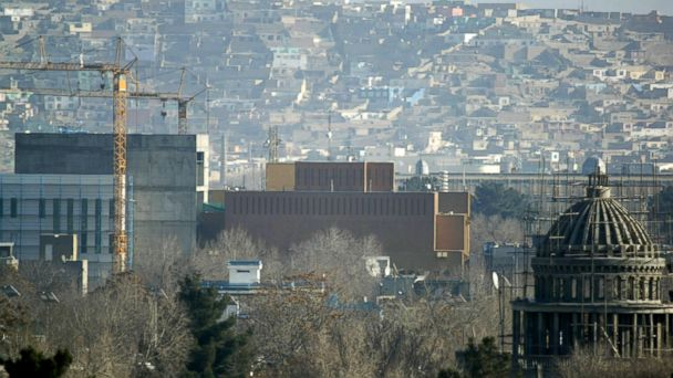 AP kabul embassy nt 131225 16x9 608 US Embassy in Kabul Attacked on Christmas Day