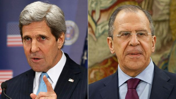 AP kerry lavrov kab 140305 16x9 608 John Kerry to Meet Russian Counterpart Friday, But Why Now?