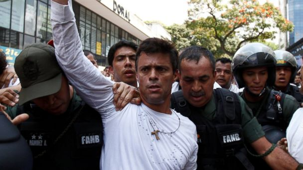 AP leopoldo lopez jef 140225 16x9 608 Whos Who in the Fight for Venezuela