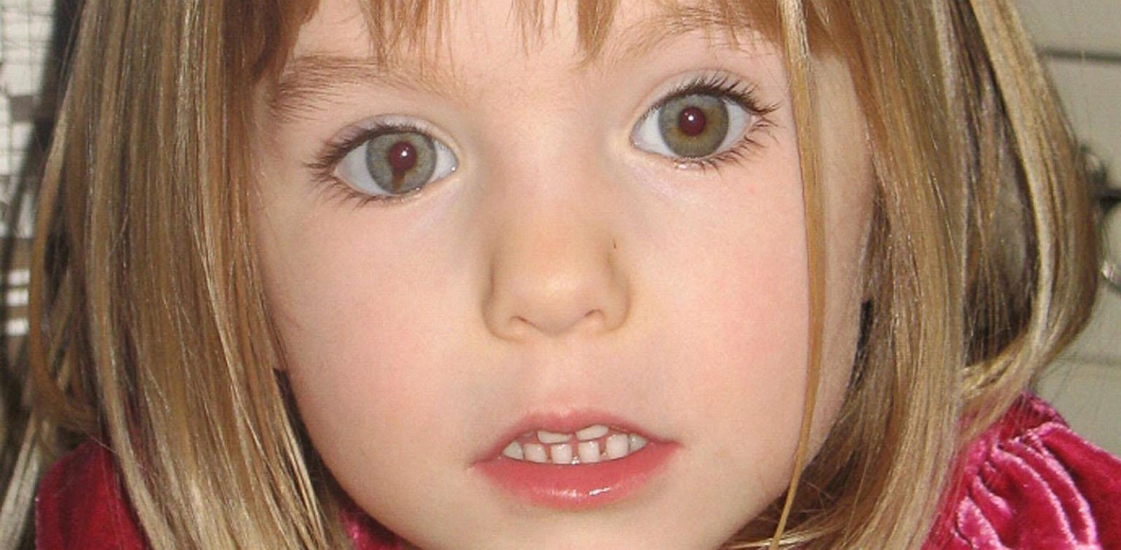 PHOTO: Madeleine McCann went missing in 2007