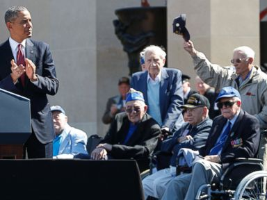Obama Honors Veterans in D-Day 70th Anniversary Ceremonies