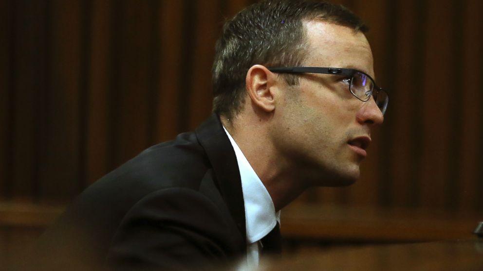 PHOTO: Oscar Pistorius sits in the dock in court in Pretoria, South Africa, April 7, 2014.