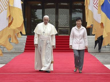 Pope Francis Travels to South Korea