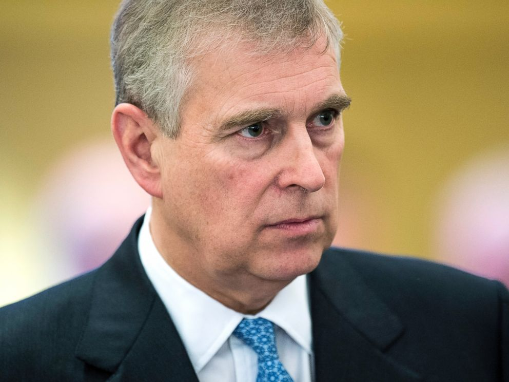PHOTO: Britains Prince Andrew looks on during the 45th Annual Meeting of the World Economic Forum, WEF, in Davos, Switzerland, Jan. 22, 2015.
