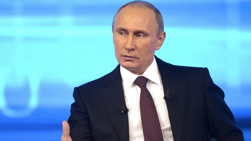 Putin 'Hopes' He Won't Have to Send Troops Into Eastern Ukraine